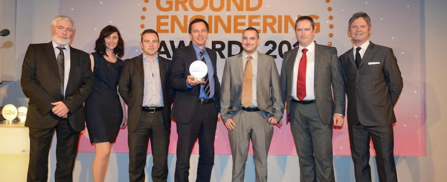 Ground Engineering Awards 2014 – MGF Win in the Health and Safety Category