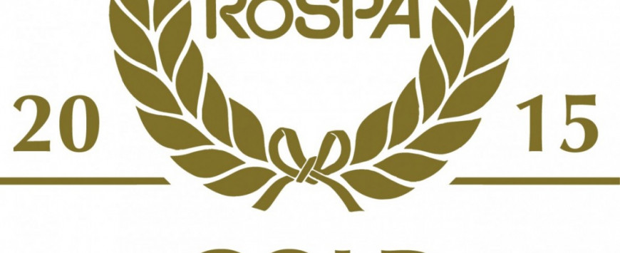 WINNER – RoSPA Gold Achievement Award 2015