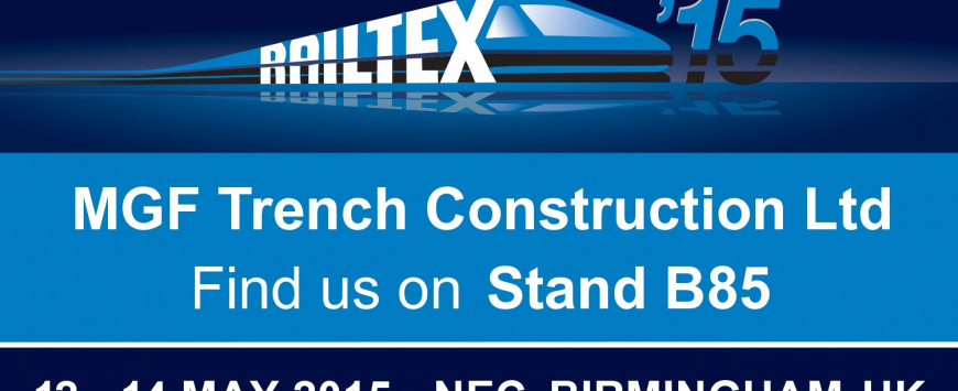 Industry First in Lightweight GRP Shoring Showcased at Railtex 2015