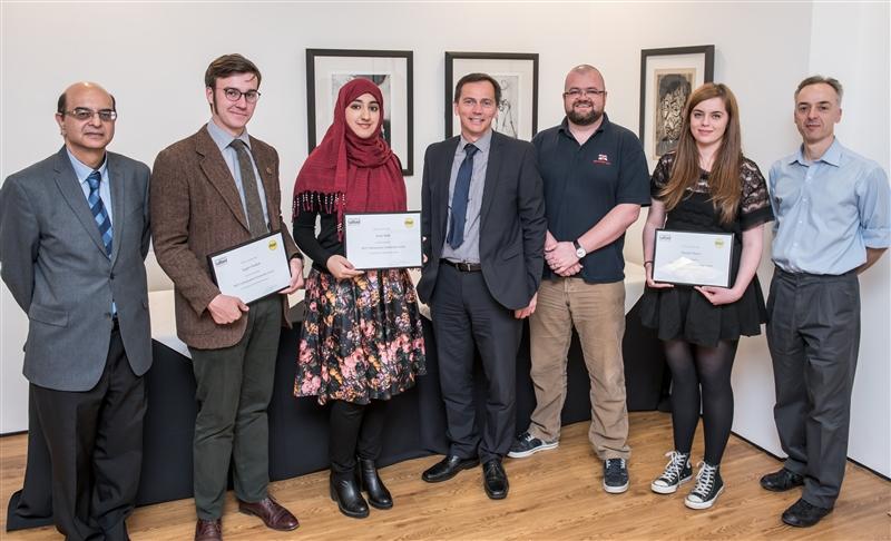 r MGF Award 027 N384 MGFs Engineering Director Presents Scholarship Awards to University Students