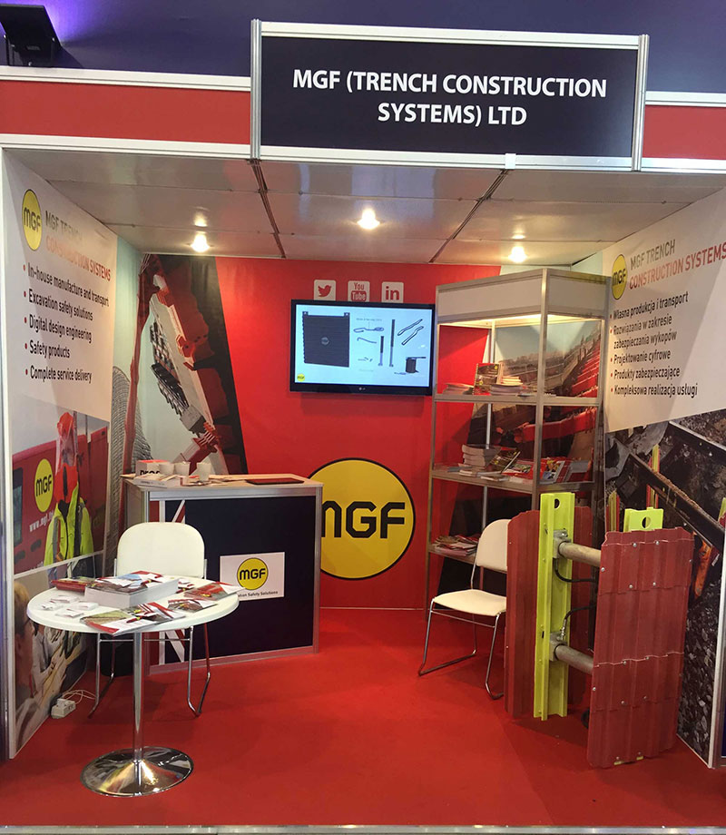 MGF event stand at Trako 2015