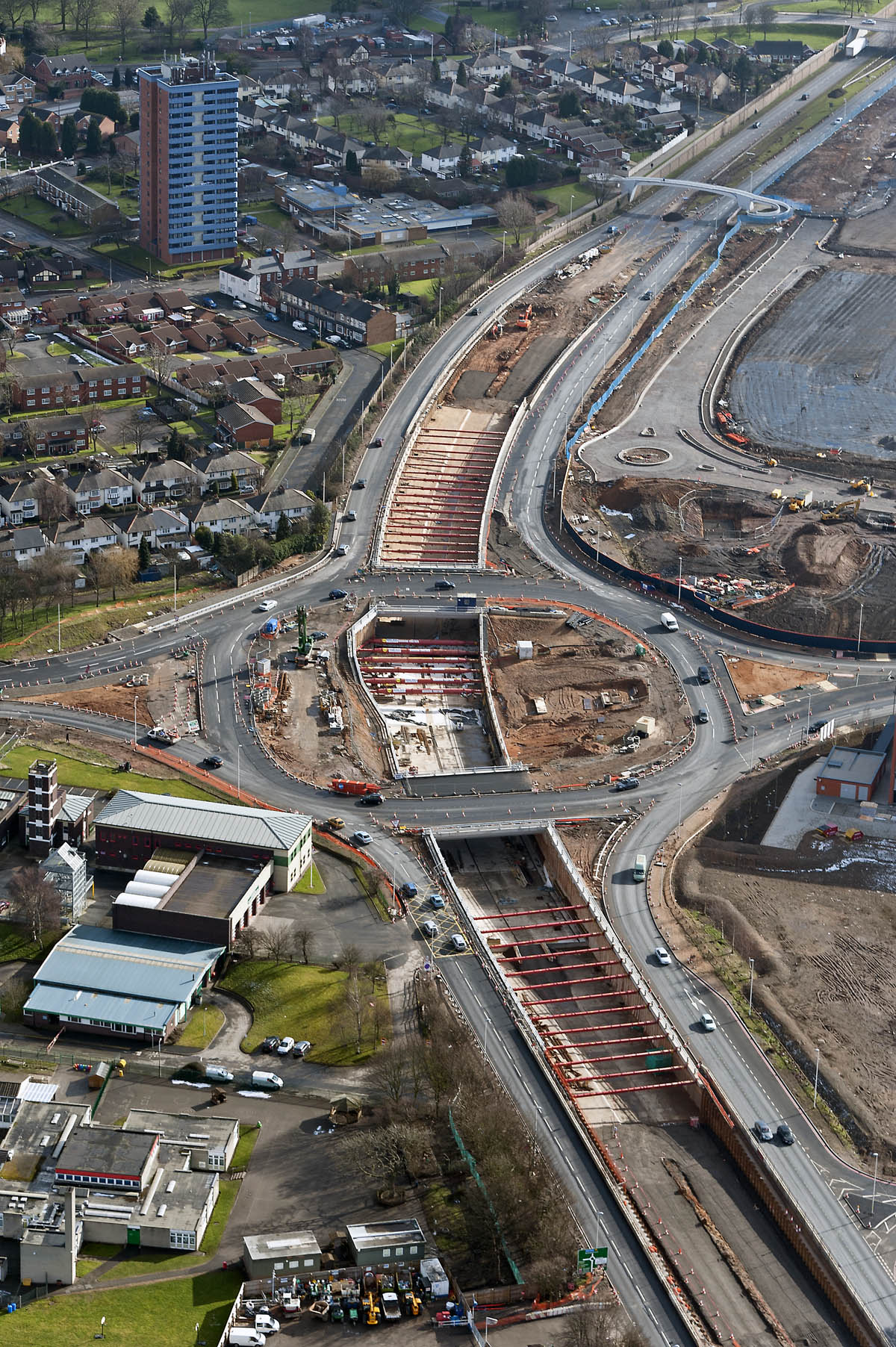A41 Undepass Propping Case Study   Sandwell Borough Council Under Propping at A41