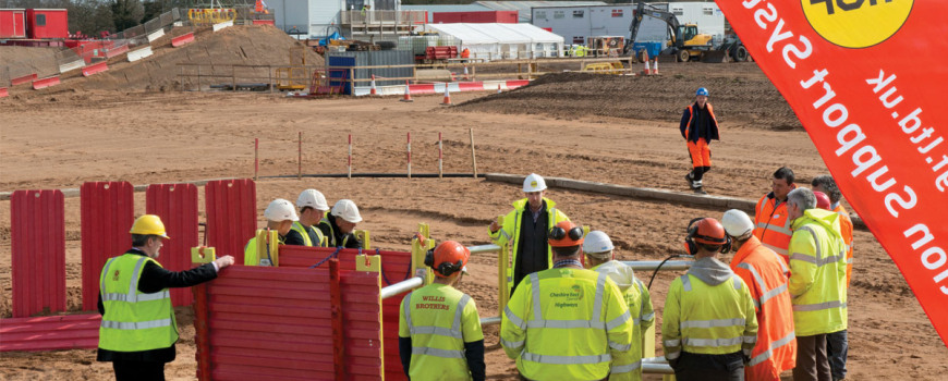 Construction event for excavation kit