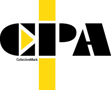 Black and yellow CPA logo on a white background