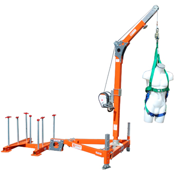 Counter Balance Davit System Mgf Excavation Safety Solutions