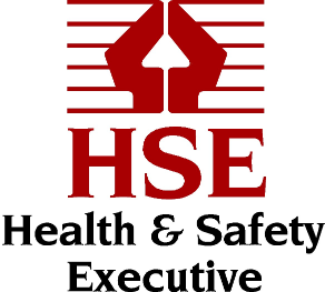 Red and black HSE logo presented on a white background