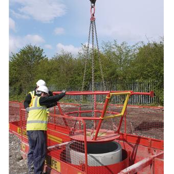 Manhole Ring Safe 340 Manhole Ring Safety Platform