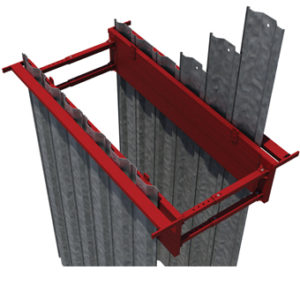 Piling Frame and Trestles