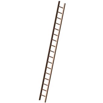 Wooden Pole Ladder 340 Wooden Pole Ladders