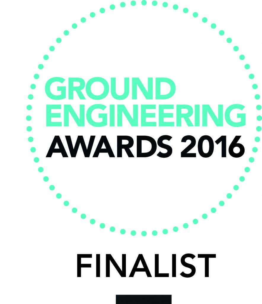 Ground engineering awards logo 2016
