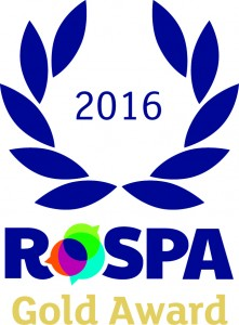 Gold Award 02 221x300 MGF Win RoSPA Gold Award for Third Consecutive Year