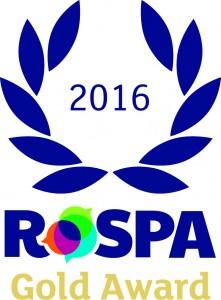 Gold Award 02 221x300 MGF Win RoSPA Gold Award for Third Consecutive Year
