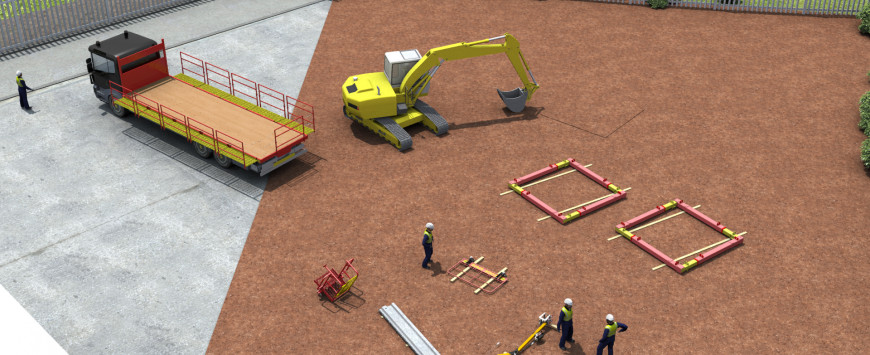 Sheet Piling Safe Installation Guide Push and Dig Method – Watch Our Latest 3D Animation