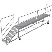 wagon access platform
