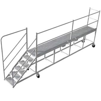 wagon access platform