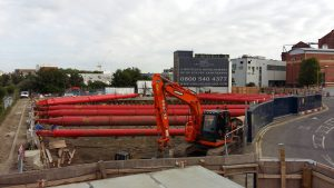 Chelsea Island Temporary Works Solution from MGF