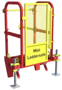 Animation of MGF Mini Laddersafe product on a white background