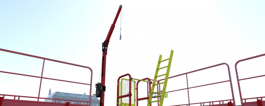 Mini Laddersafe with ladder and rope