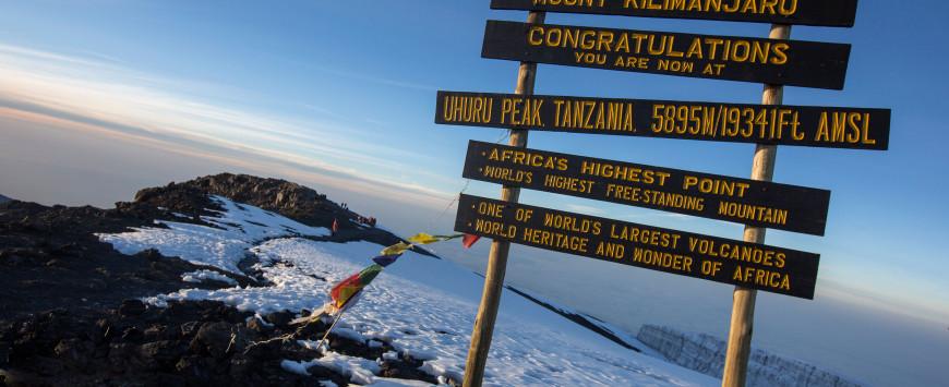 MGF supports Kilimanjaro charity climb
