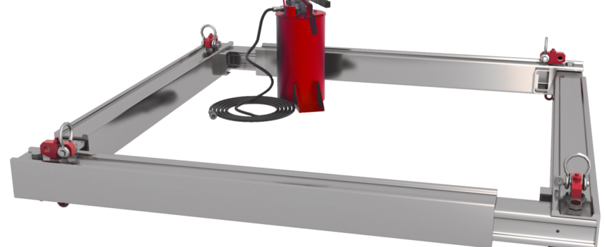 MGF Introduce Aluminium Utility Manhole Brace