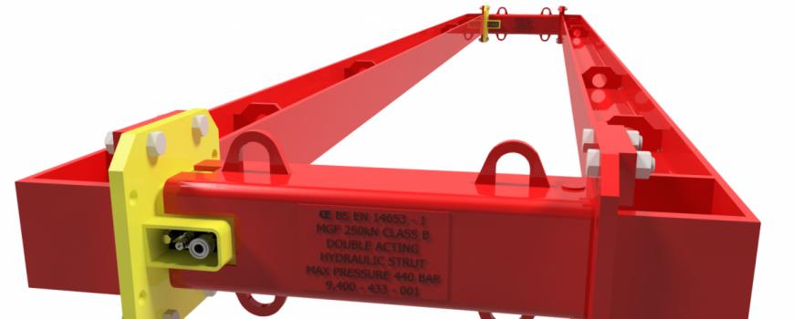 152UC with 250kN Hydraulic Struts e1614255286615