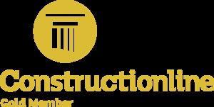 Gold Constructionline Gold Member status logo