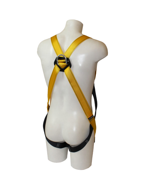 Mannequin displaying a Rescue Harness in front of a white background
