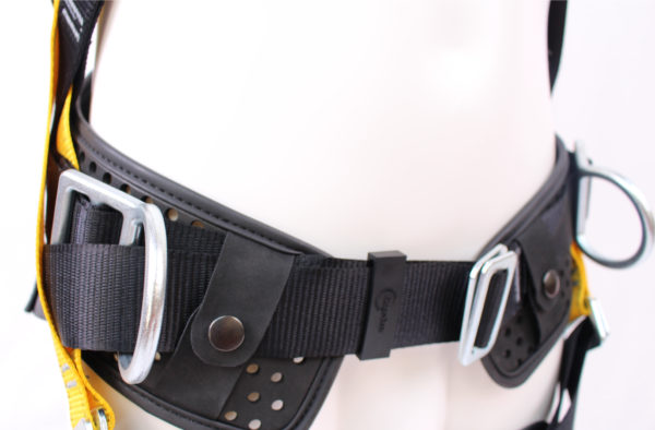Ridgegear Work Positioning Harness product displayed on a mannequin