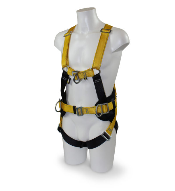 MGF RGH4 Harness displayed on a mannequin with a white background