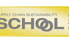 Gold award logo for MGF from Supply Chain Sustainability School
