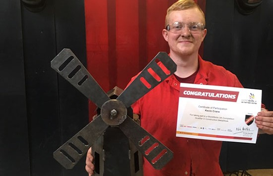 MGF Apprentice Enters National Welding Competition