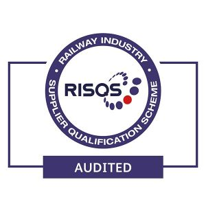 RISQS audit stamp logo on a white background