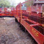 Case Study: 78m long open excavation 1