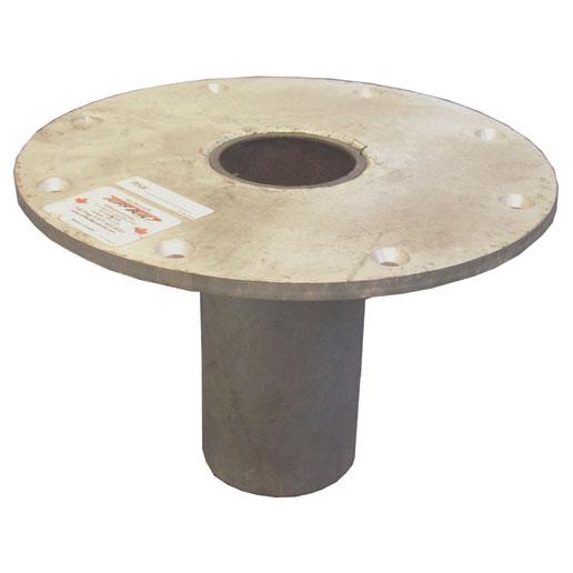 Abtech 30021 Flush Floor Mount for Existing Concrete 1