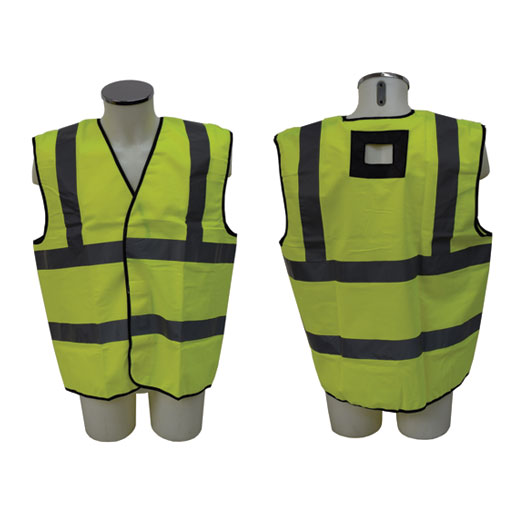 Abtech ABJ- Y - Hi Vis Jacket with Harness Attachment Points 1