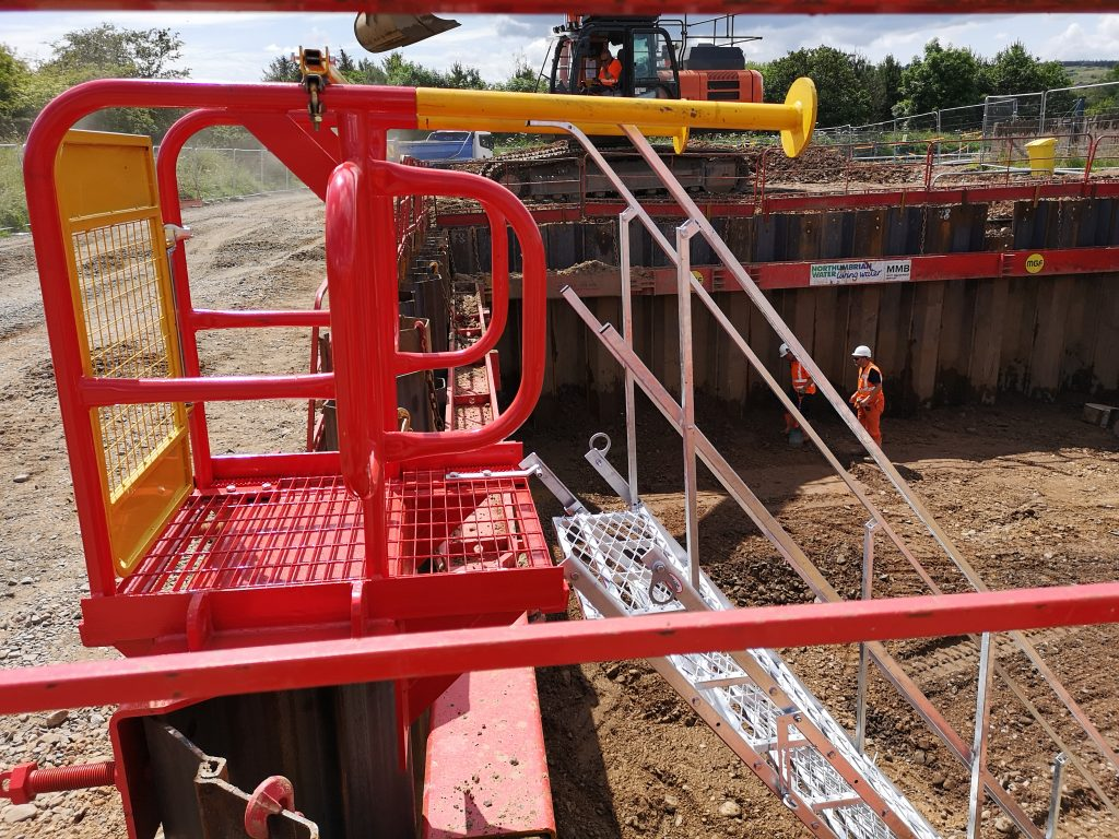MGF introduce new Stairsafe to existing range of Shoring Safety Products 1