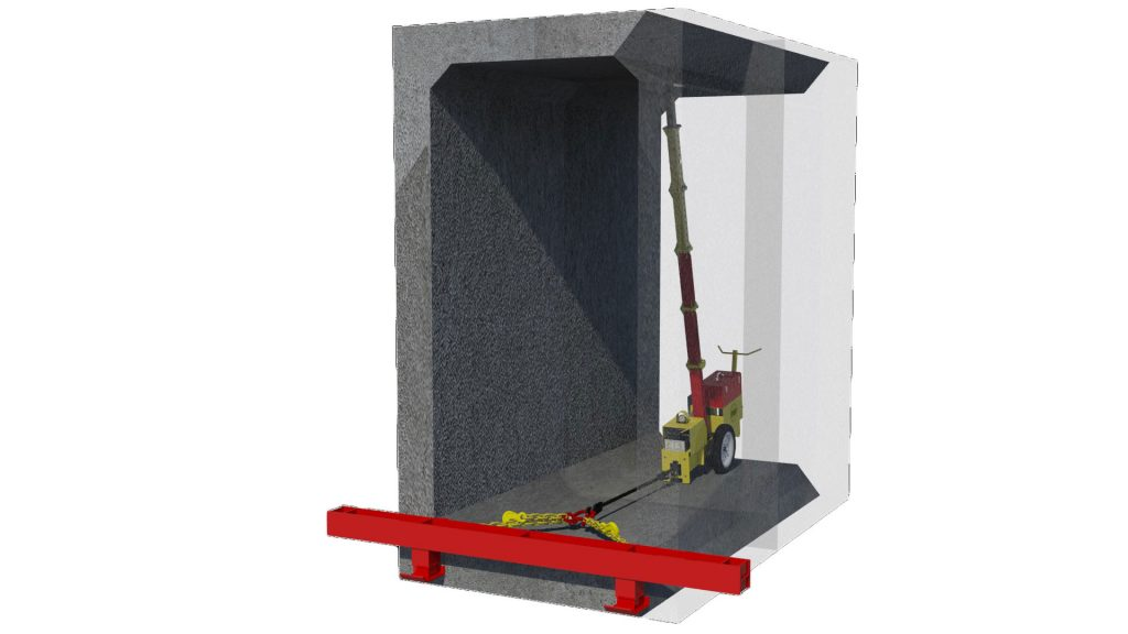 Animation of MGF Culvert Puller Adaptor