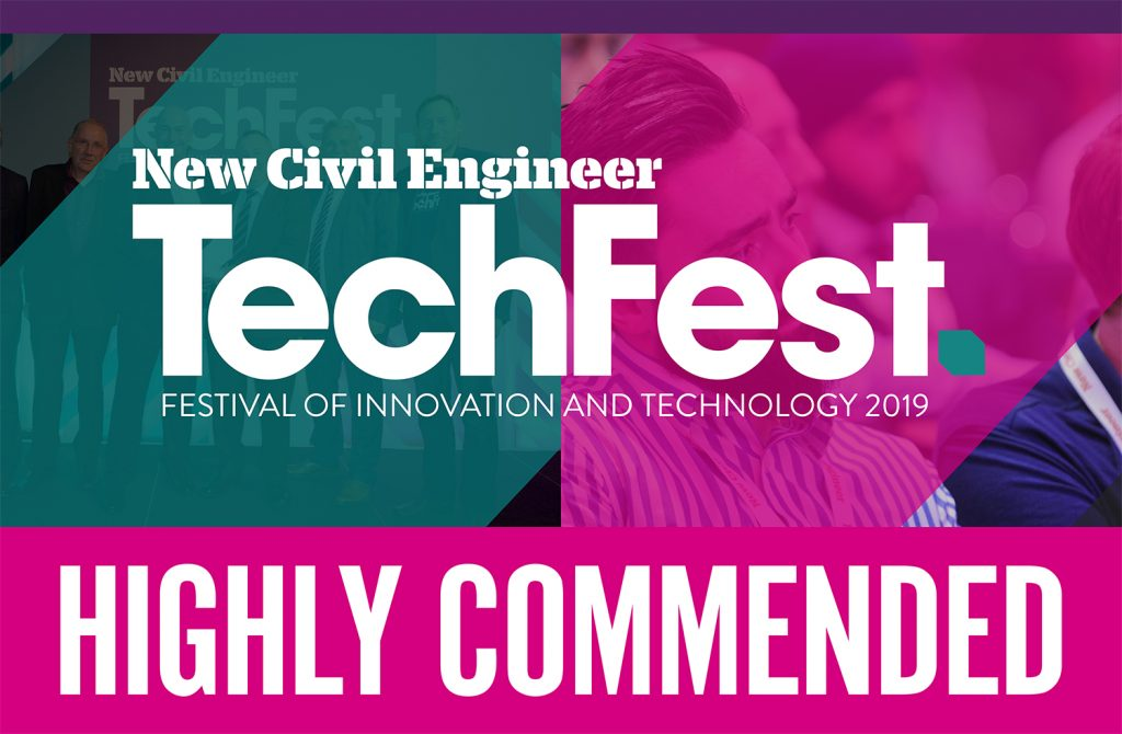 TechFest 2019 Highly Commended Logo