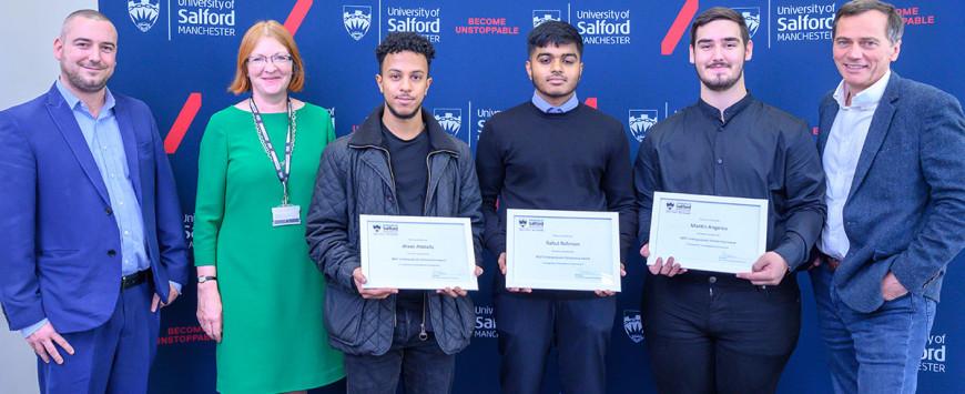 MGF Award Scholarships at University of Salford