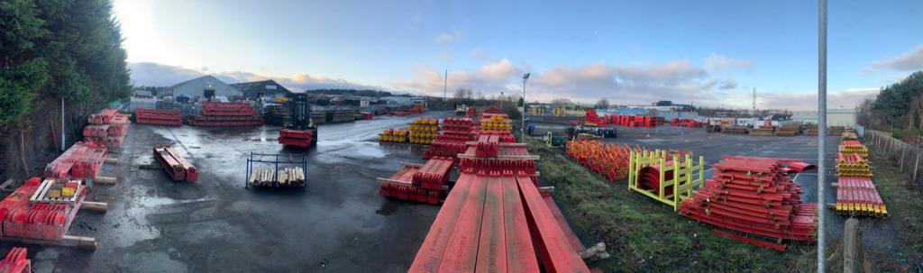 Scotland depot yard
