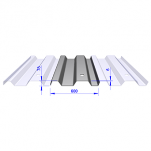 Trench sheet KKD 600/6