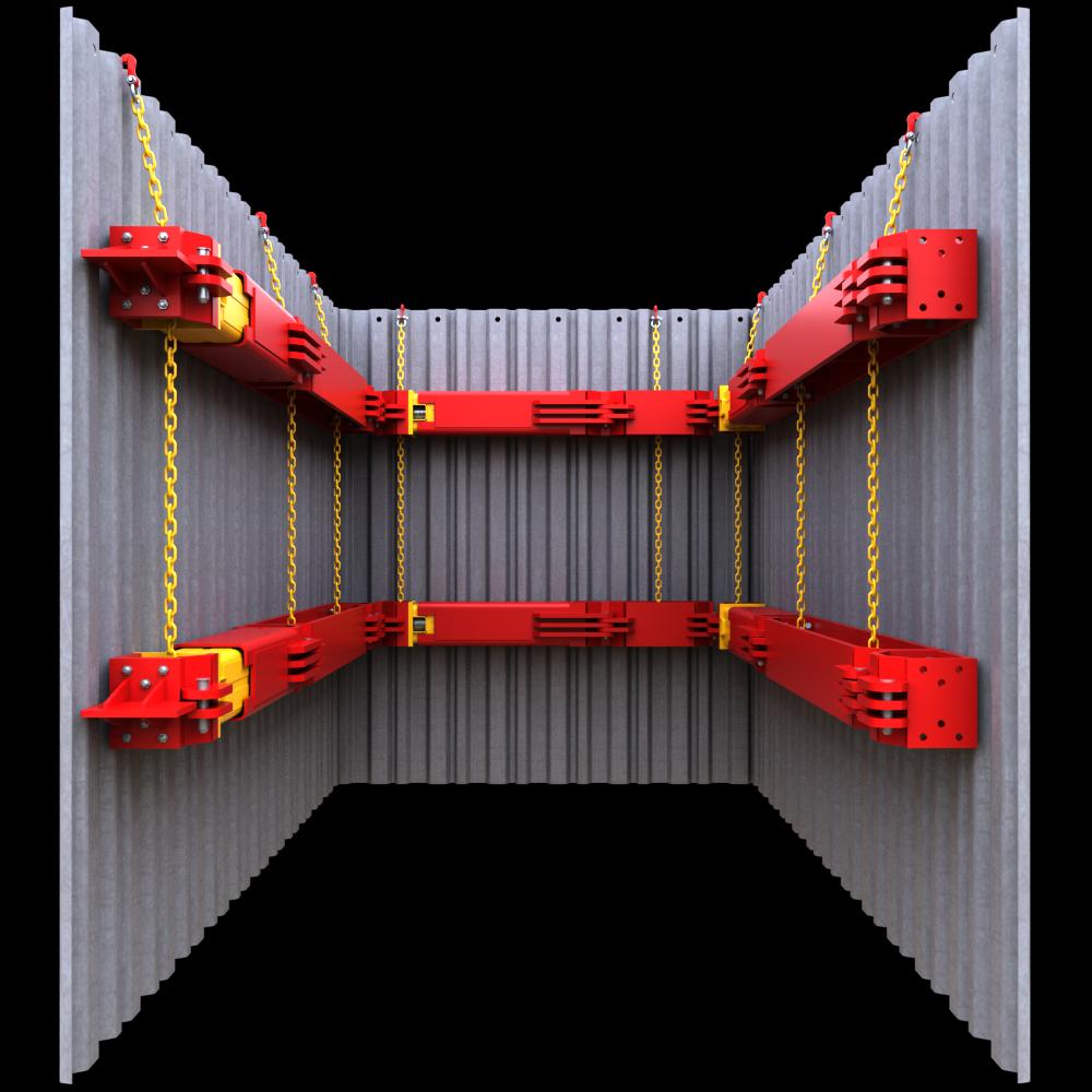 Inside look at a 406 UC Brace 3D image