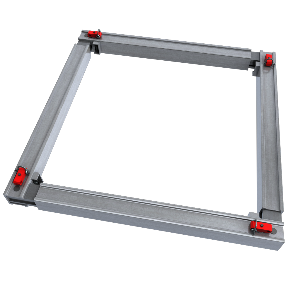 Aluminium Utility Manhole Brace animated image