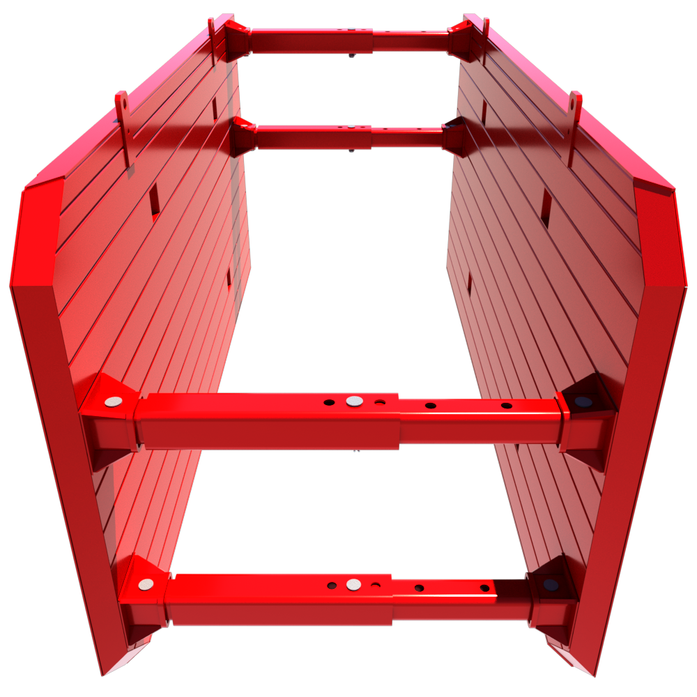 Inside view of a 3D Drag Box