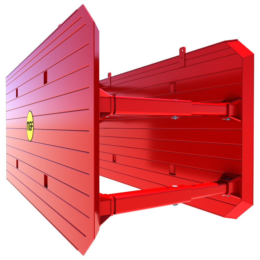 Close up of a 3D Drag Box animation