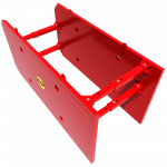 Above view of a Drag Box render