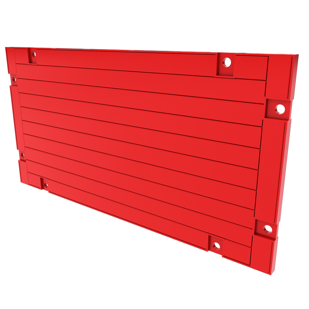 3D animation of an Endsafe Panel