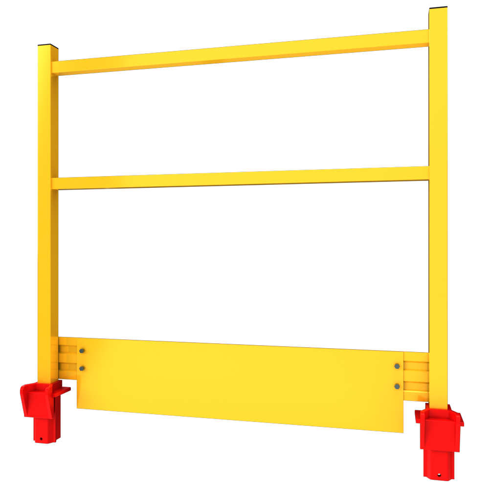 Side view of a GRP Edgesafe animation