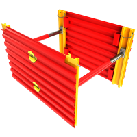 GRP Mini Trench Box 3D animation