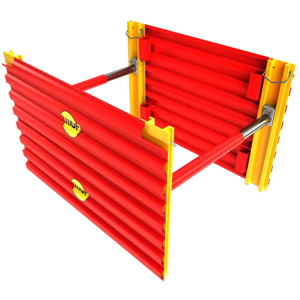 GRP Mini Trench Box 3D animation